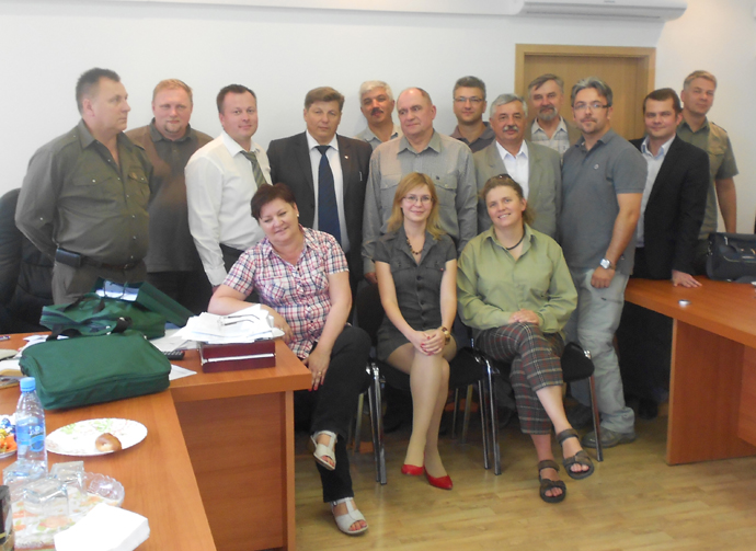 Polish foresters & the management of Forest Committee of the Komi Republic