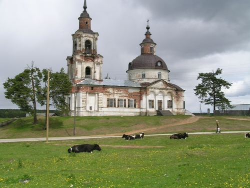 Поселок Кажым