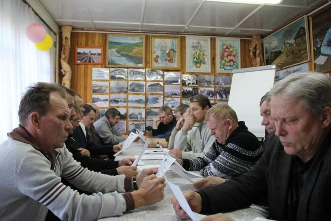 Участники семинара знакомятся с программой